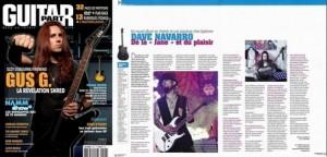 Intervew de Dave Navarro  - JL Horvilleur - Guitar Part 203