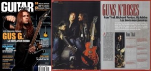 Intervew des guitaristes des Guns N'Roses - JL Horvilleur - Guitar Part 203