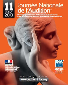 Affiche Journée de l'Audition 2010
