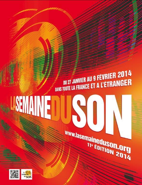 Visuel 2014 de La Semaine du  Son.