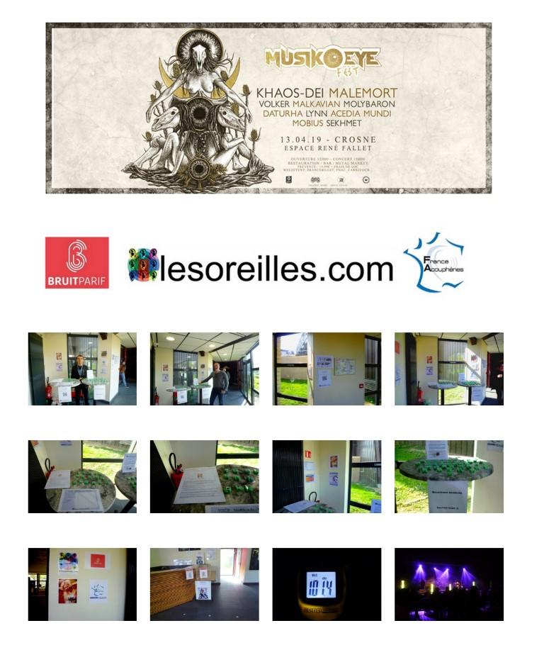 Affiche du festival et galerie